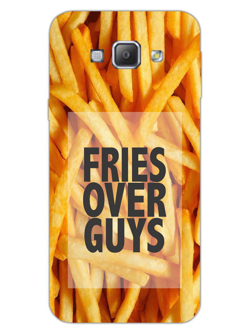 Fries Over Guys Samsung Galaxy A8 2015 Mobile Cover Case - MADANYU