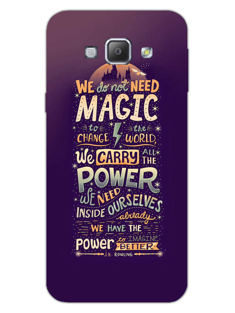 Harry Potter Quote Samsung Galaxy A8 2015 Mobile Cover Case - MADANYU