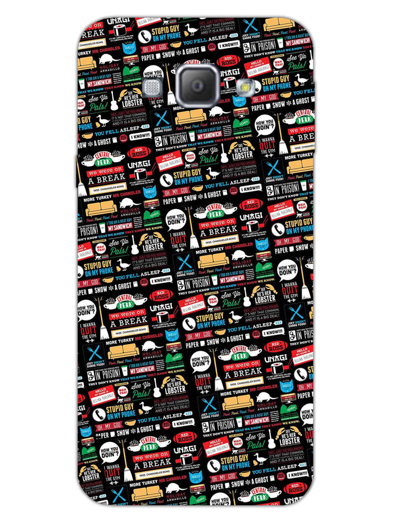 FRIENDS Samsung Galaxy A8 2015 Mobile Cover Case
