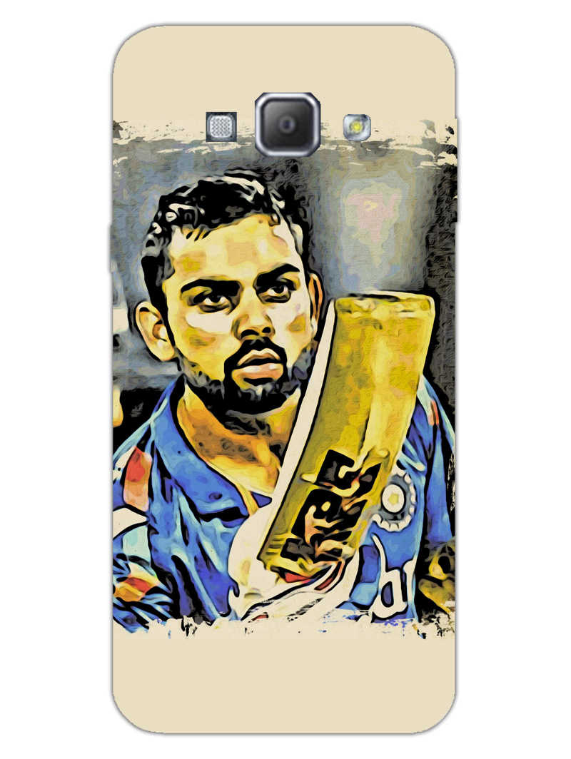 Kohli Bat Kiss Samsung Galaxy A8 2015 Mobile Cover Case - MADANYU