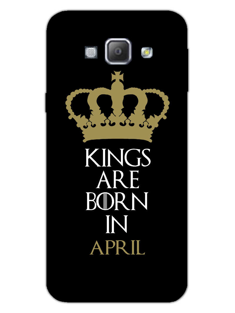 Kings April Samsung Galaxy A8 2015 Mobile Cover Case