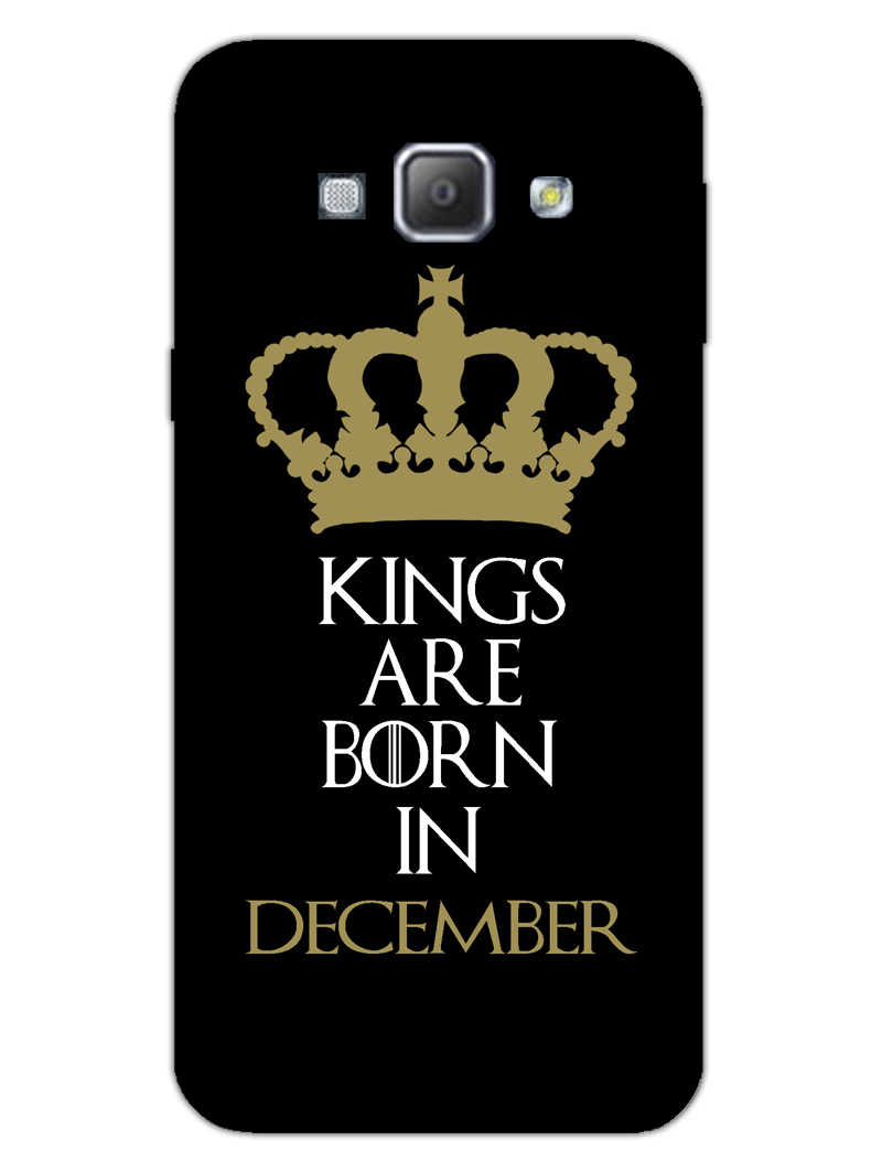 Kings December Samsung Galaxy A8 2015 Mobile Cover Case - MADANYU
