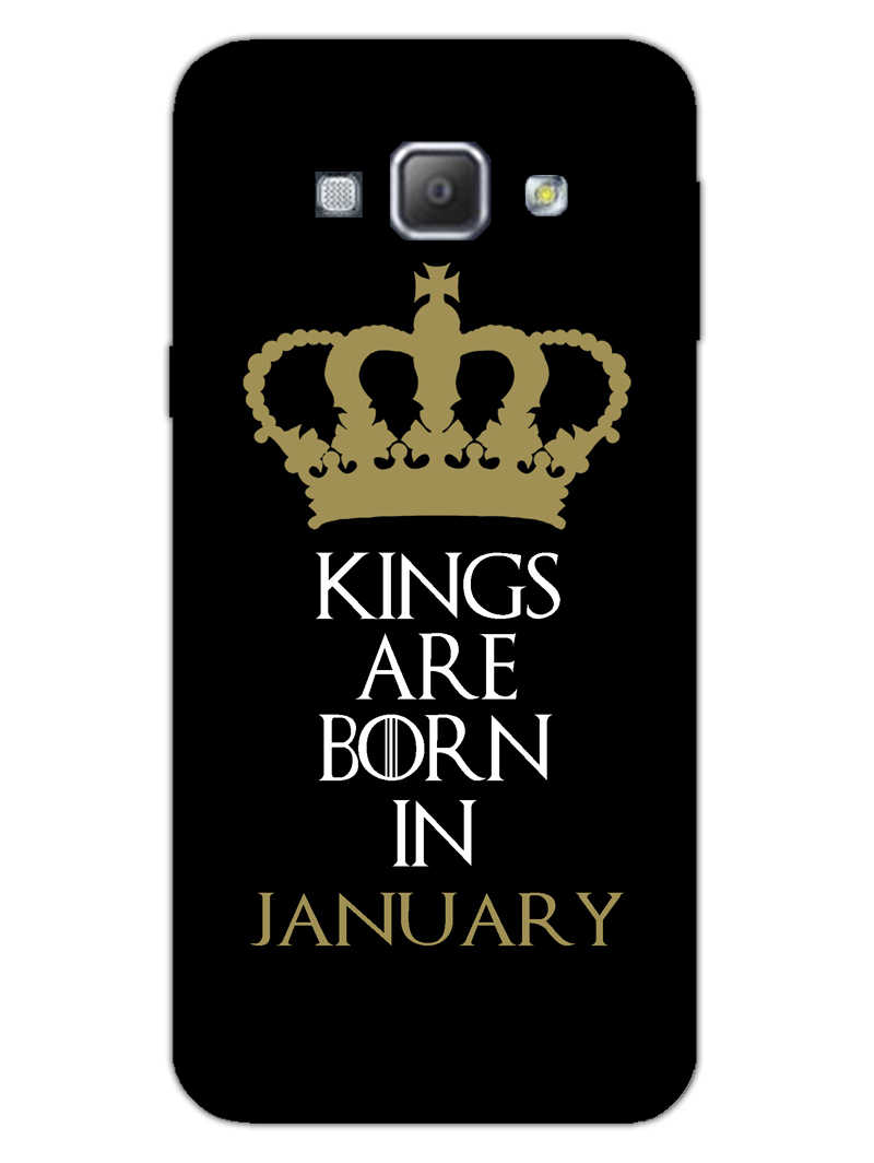 Kings January Samsung Galaxy A8 2015 Mobile Cover Case