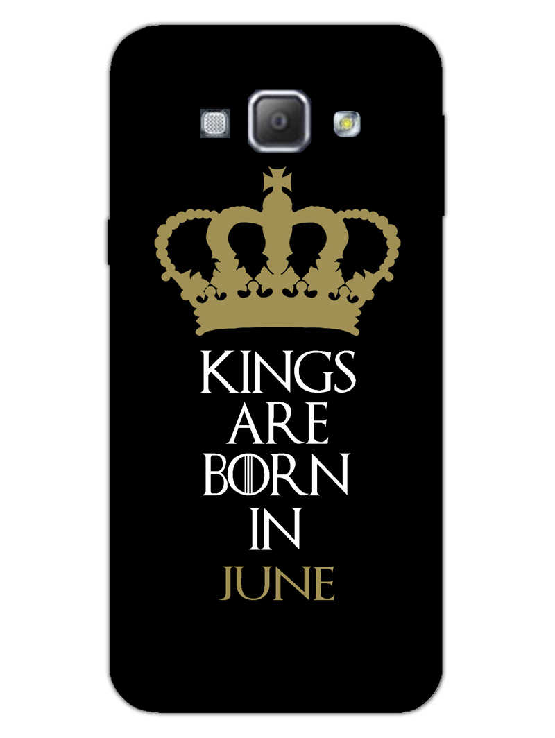 Kings June Samsung Galaxy A8 2015 Mobile Cover Case - MADANYU