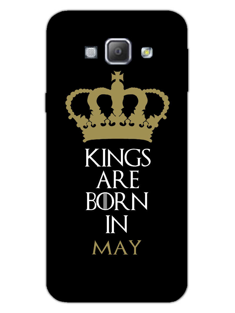 Kings May Samsung Galaxy A8 2015 Mobile Cover Case