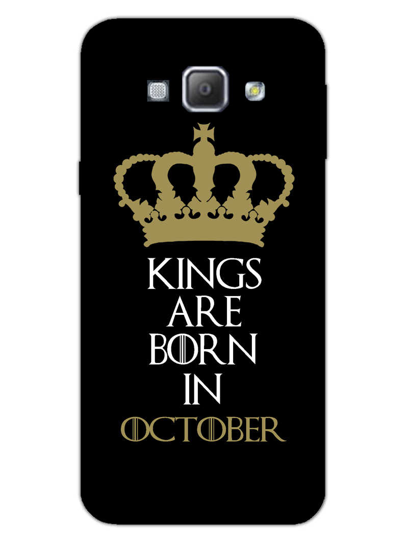 Kings October Samsung Galaxy A8 2015 Mobile Cover Case