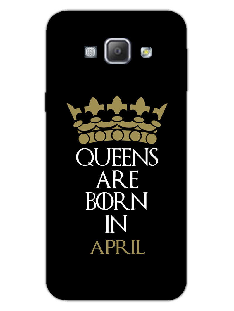 Queens April Samsung Galaxy A8 2015 Mobile Cover Case - MADANYU