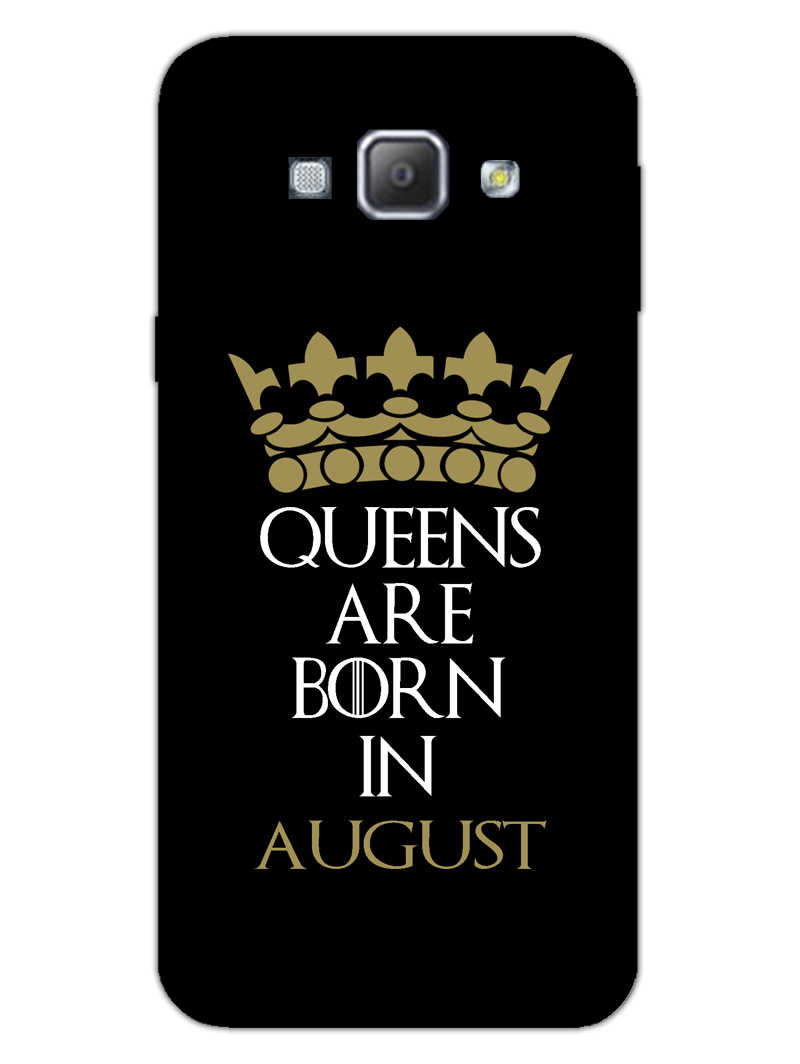 Queens August Samsung Galaxy A8 2015 Mobile Cover Case