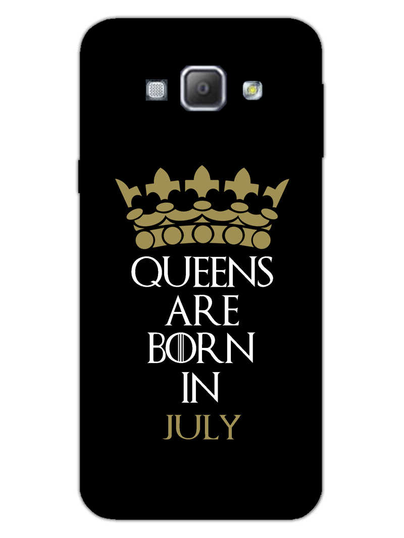Queens July Samsung Galaxy A8 2015 Mobile Cover Case