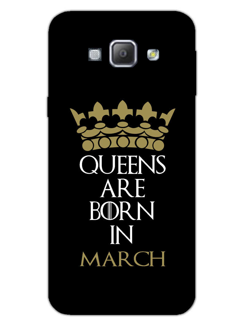 Queens March Samsung Galaxy A8 2015 Mobile Cover Case