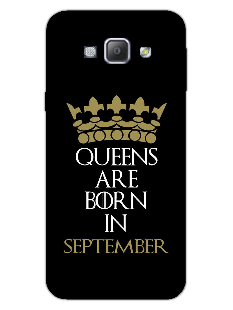Queens September Samsung Galaxy A8 2015 Mobile Cover Case