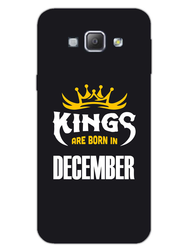 Kings December - Narcissist Samsung Galaxy A8 2015 Mobile Cover Case