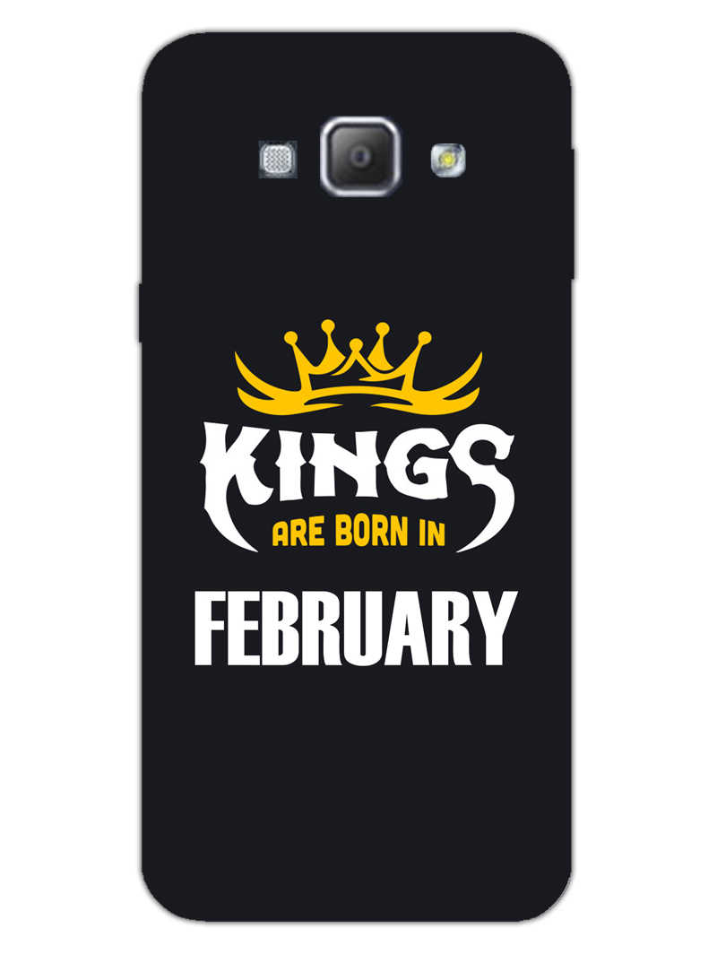 Kings February - Narcissist Samsung Galaxy A8 2015 Mobile Cover Case - MADANYU
