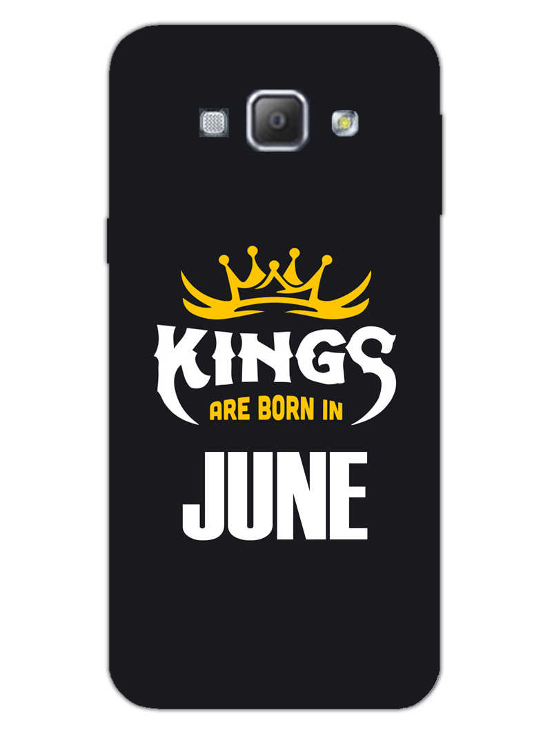 Kings June - Narcissist Samsung Galaxy A8 2015 Mobile Cover Case - MADANYU