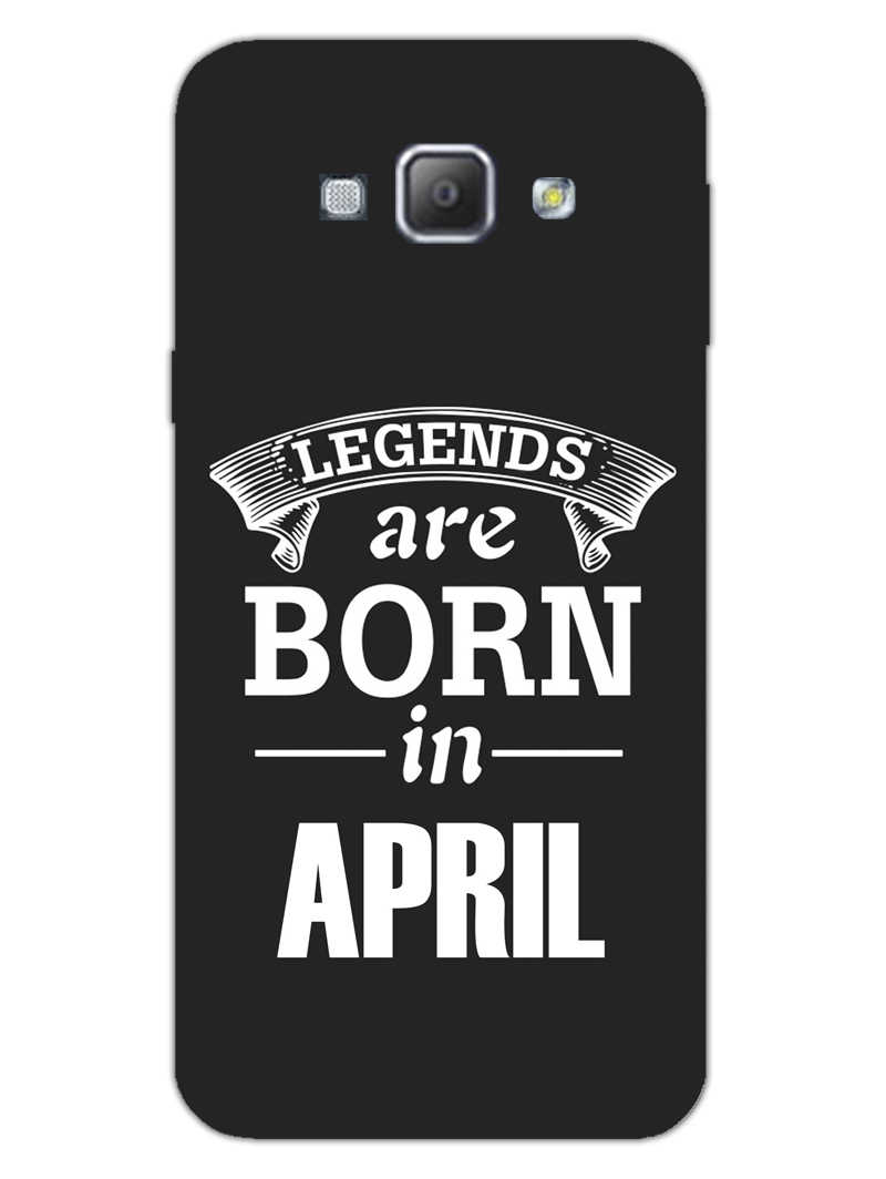 Legends April Samsung Galaxy A8 2015 Mobile Cover Case
