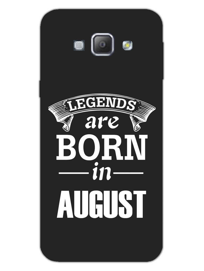 Legends August Samsung Galaxy A8 2015 Mobile Cover Case
