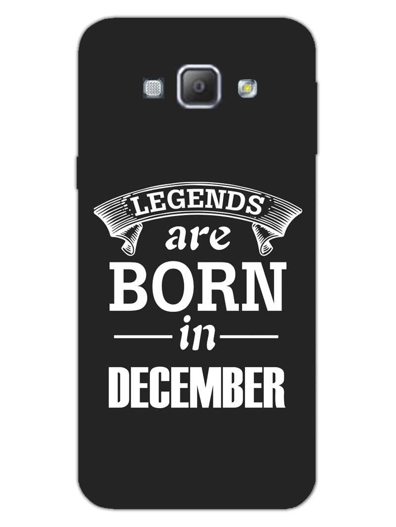 Legends December Samsung Galaxy A8 2015 Mobile Cover Case - MADANYU