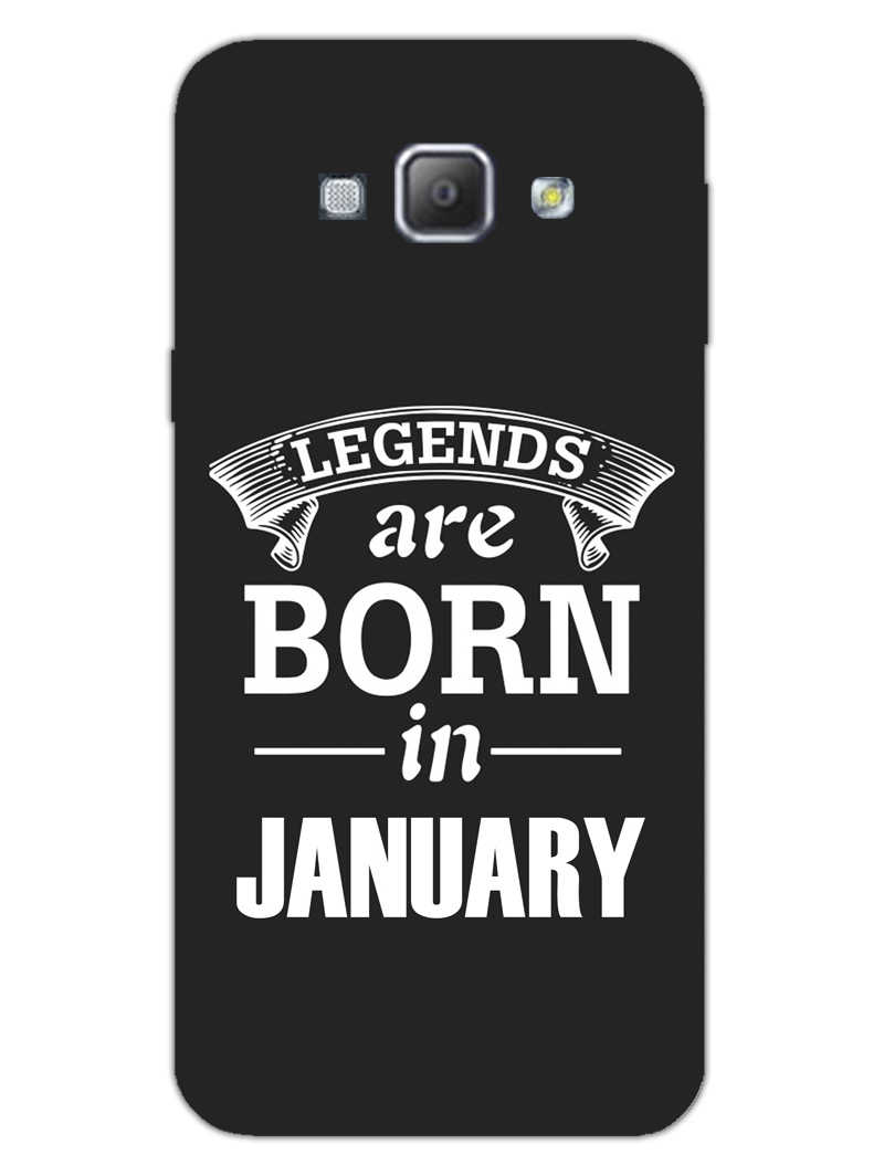 Legends January Samsung Galaxy A8 2015 Mobile Cover Case