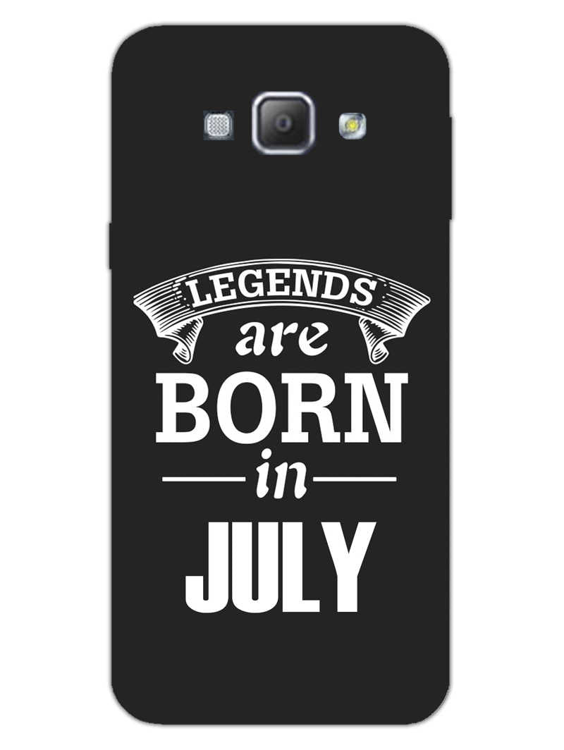 Legends July Samsung Galaxy A8 2015 Mobile Cover Case