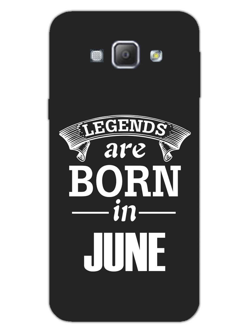 Legends June Samsung Galaxy A8 2015 Mobile Cover Case - MADANYU