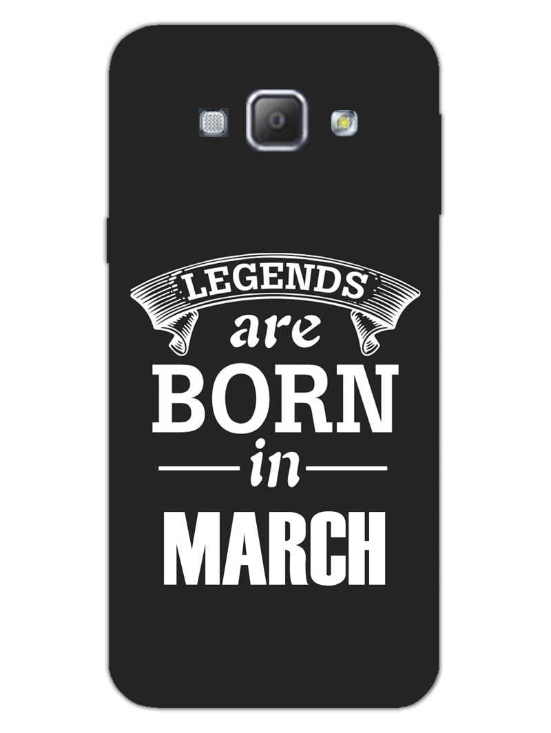 Legends March Samsung Galaxy A8 2015 Mobile Cover Case - MADANYU