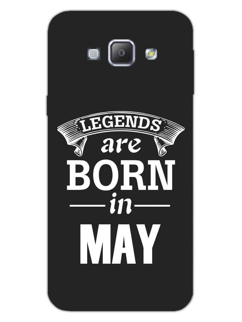 Legends May Samsung Galaxy A8 2015 Mobile Cover Case