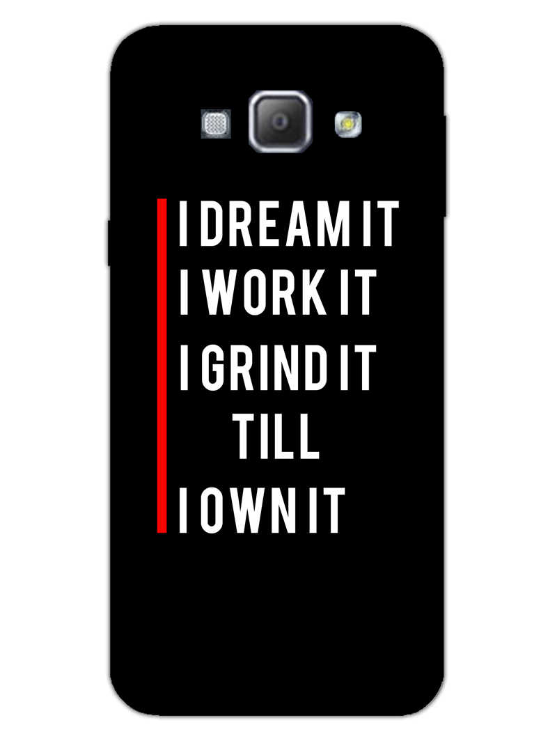 Morning Motivation Samsung Galaxy A8 2015 Mobile Cover Case