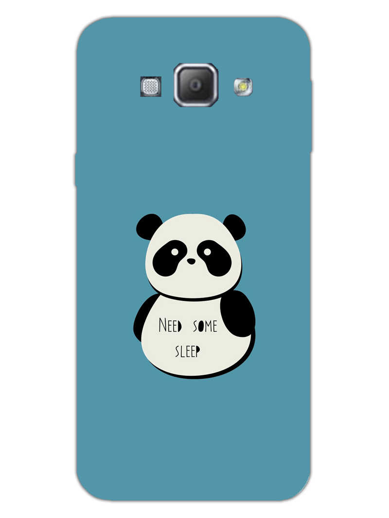 Sleepy Panda Samsung Galaxy A8 2015 Mobile Cover Case
