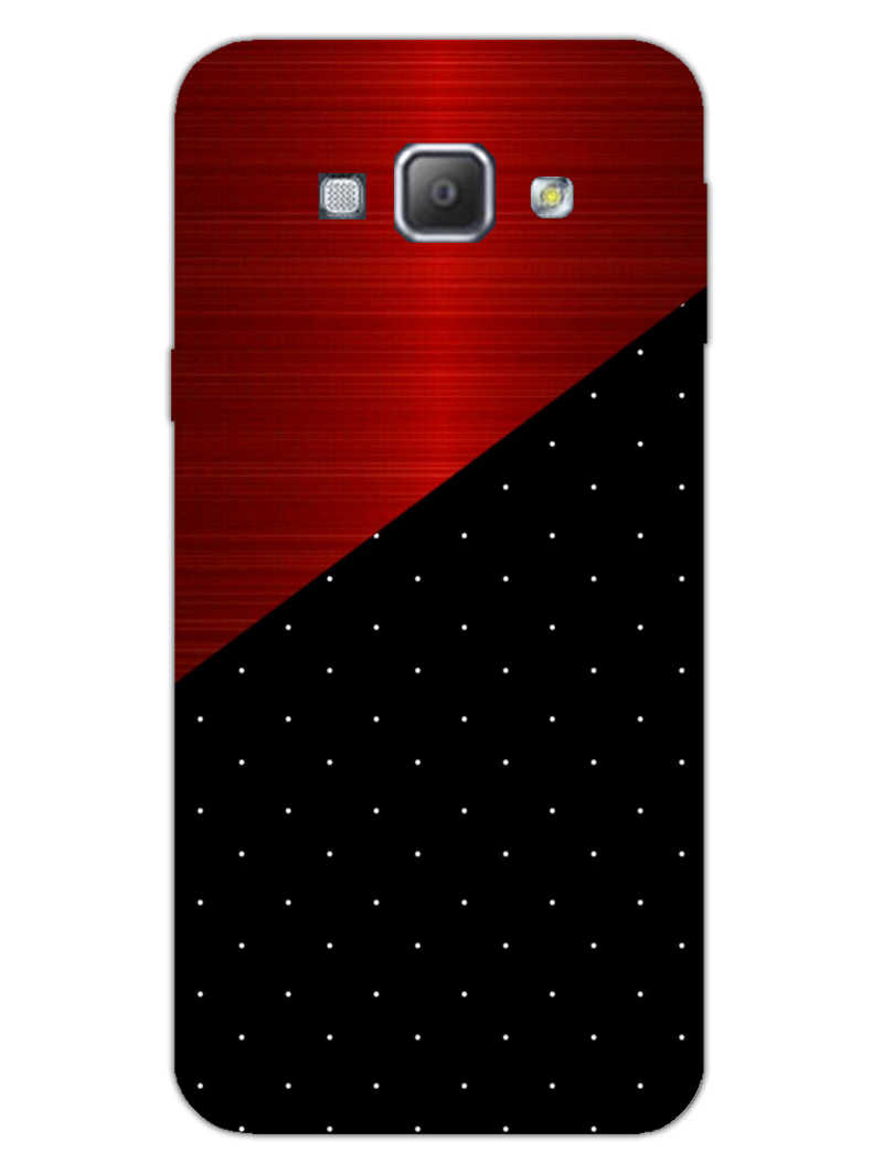 Polka Dots On Wood Samsung Galaxy A8 2015 Mobile Cover Case