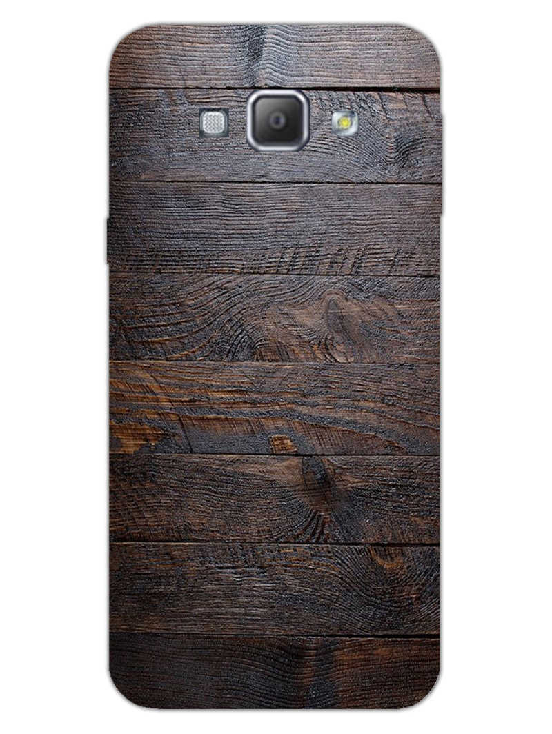 Wooden Wall Samsung Galaxy A8 2015 Mobile Cover Case