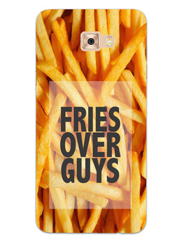 Fries Over Guys Samsung Galaxy C7 Pro Mobile Cover Case