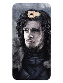 Jon Snow Samsung Galaxy C7 Pro Mobile Cover Case