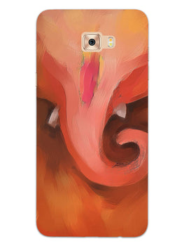 Lord Ganesha Art Samsung Galaxy C7 Pro Mobile Cover Case