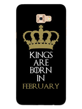 Kings February Samsung Galaxy C7 Pro Mobile Cover Case