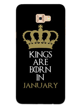Kings January Samsung Galaxy C7 Pro Mobile Cover Case