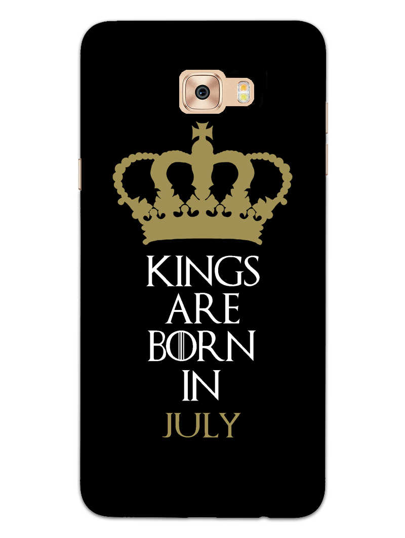 Kings July Samsung Galaxy C7 Pro Mobile Cover Case - MADANYU