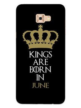 Kings June Samsung Galaxy C7 Pro Mobile Cover Case