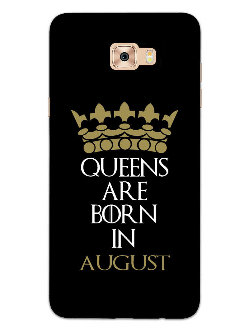 Queens August Samsung Galaxy C7 Pro Mobile Cover Case