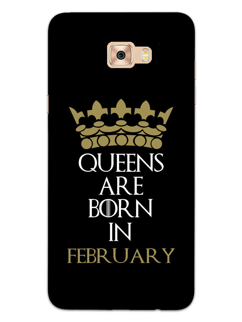 Queens February Samsung Galaxy C7 Pro Mobile Cover Case