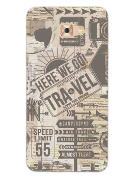 Wanderlust Graffiti Samsung Galaxy C7 Pro Mobile Cover Case