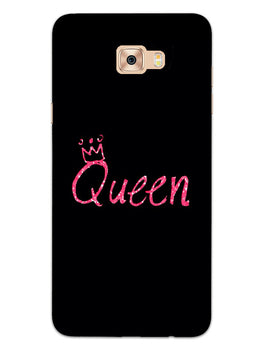 Queen Pink Samsung Galaxy C7 Pro Mobile Cover Case