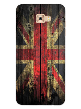 Union Jack Samsung Galaxy C7 Pro Mobile Cover Case