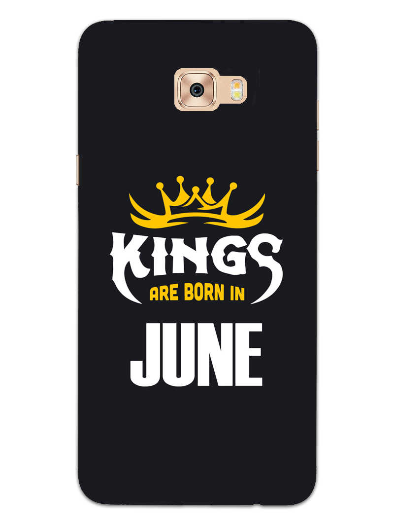 Kings June - Narcissist Samsung Galaxy C7 Pro Mobile Cover Case