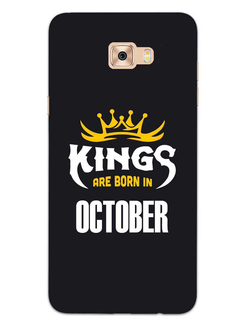 Kings October - Narcissist Samsung Galaxy C7 Pro Mobile Cover Case - MADANYU
