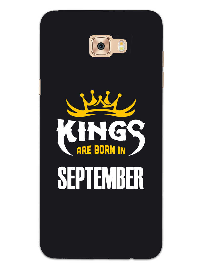 Kings September - Narcissist Samsung Galaxy C7 Pro Mobile Cover Case - MADANYU
