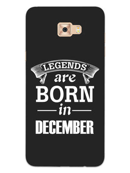 Legends December Samsung Galaxy C7 Pro Mobile Cover Case