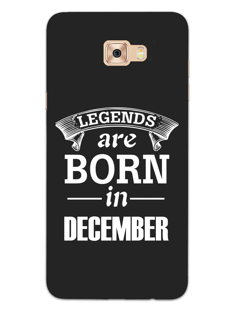Legends December Samsung Galaxy C7 Pro Mobile Cover Case - MADANYU