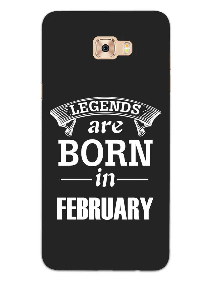 Legends February Samsung Galaxy C7 Pro Mobile Cover Case