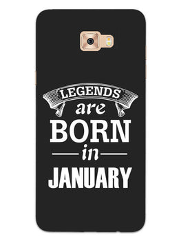 Legends January Samsung Galaxy C7 Pro Mobile Cover Case