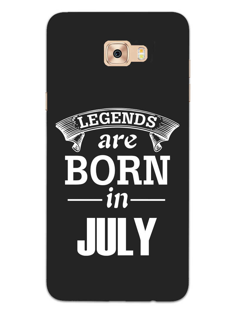 Legends July Samsung Galaxy C7 Pro Mobile Cover Case - MADANYU
